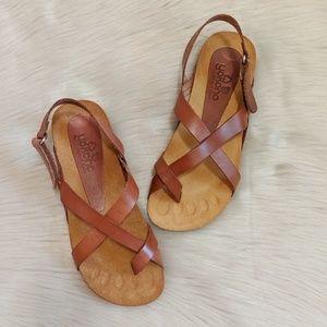 Yokono Ibizia brown sandals
